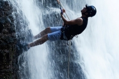 waterfall-rappelling-83163_1280