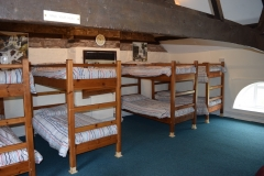 Bunk beds in Bunkhouse