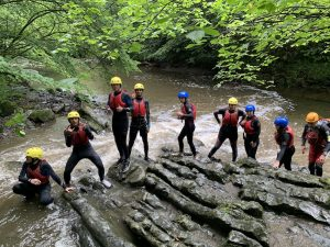 gorge walking brecon beacons